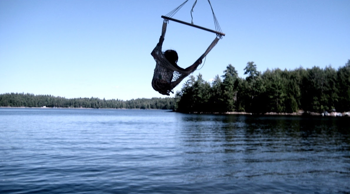 Swinging at The Lake