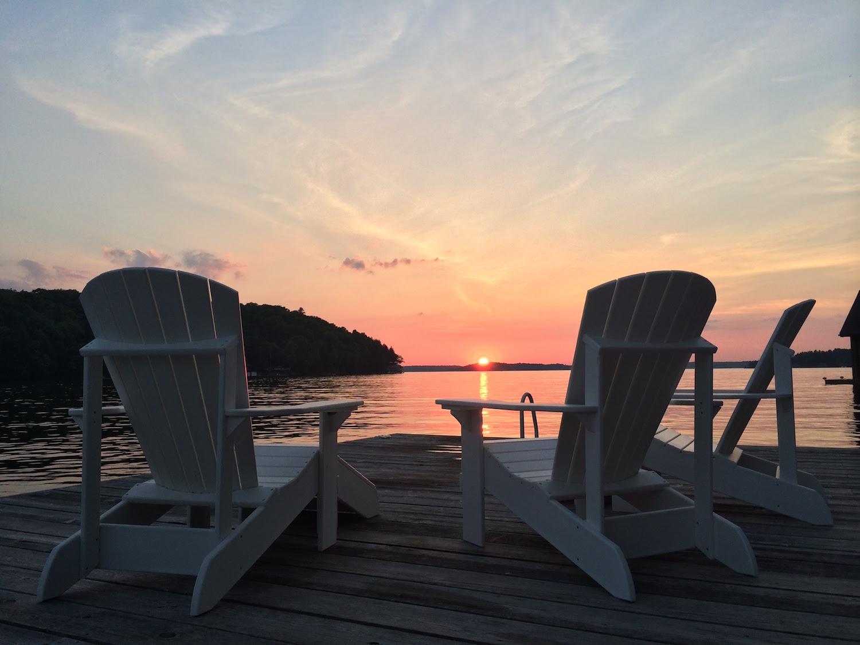 Sunset on Lake Rosseau, Muskoka