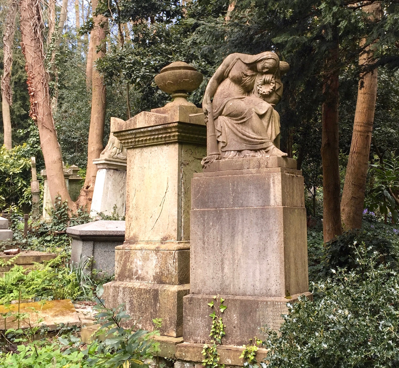 Beautiful Highgate Cemetery, London