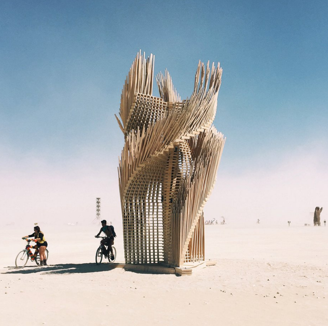 Art installation at Burning Man