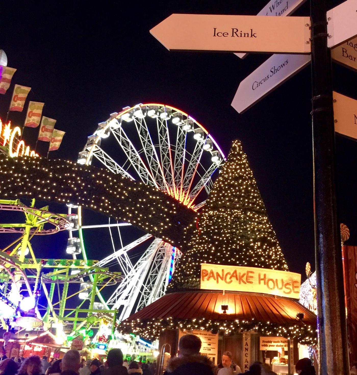 Winter Wonderland in Hyde Park, London