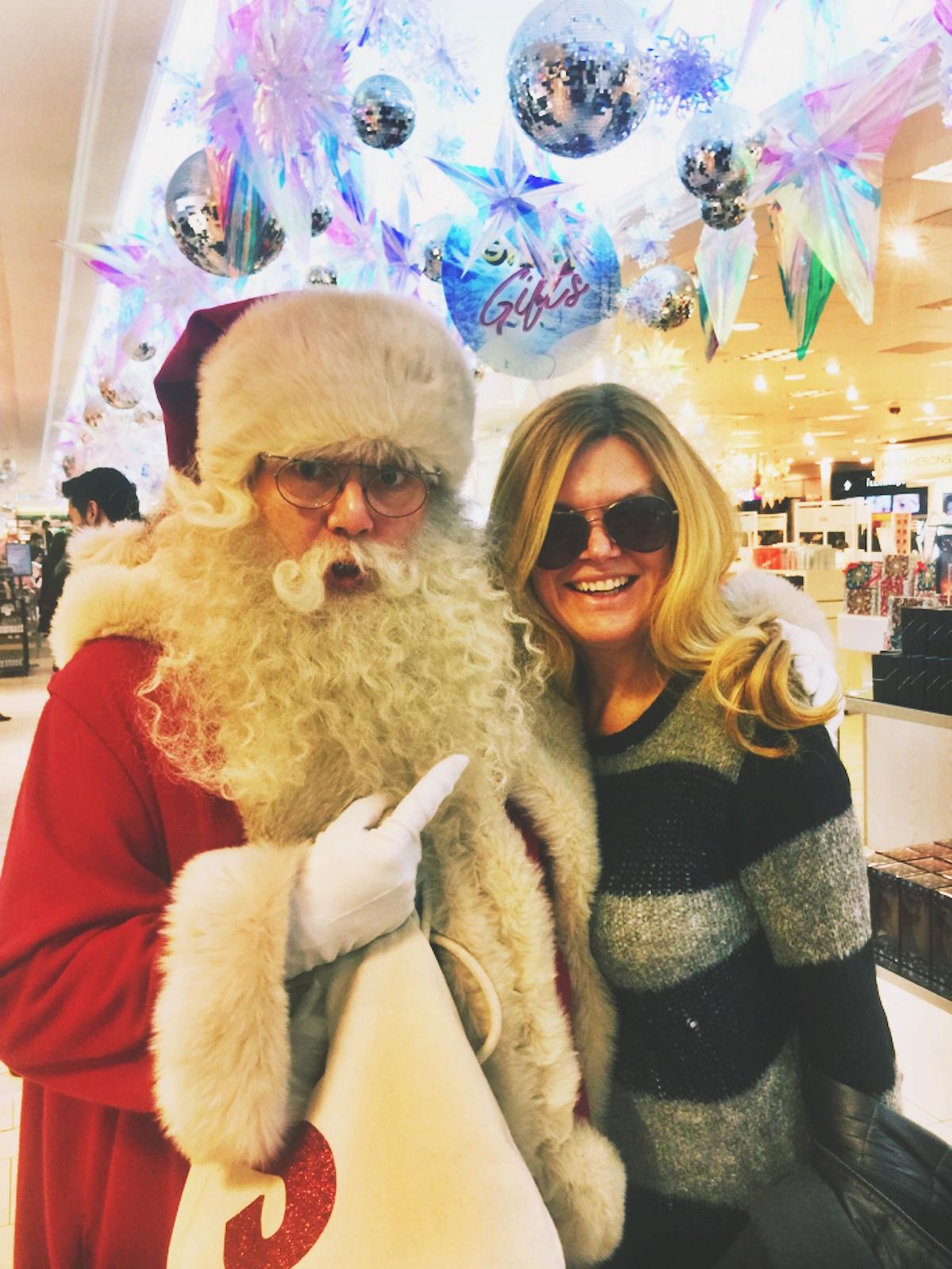 Abroad in London with Santa at Selfridge's