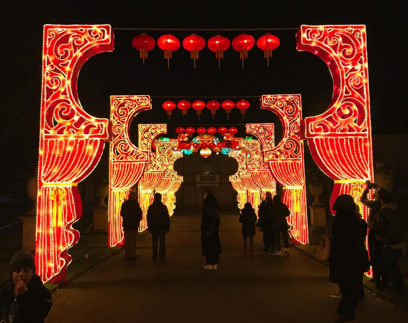 Magical Lantern Festive, London 2017