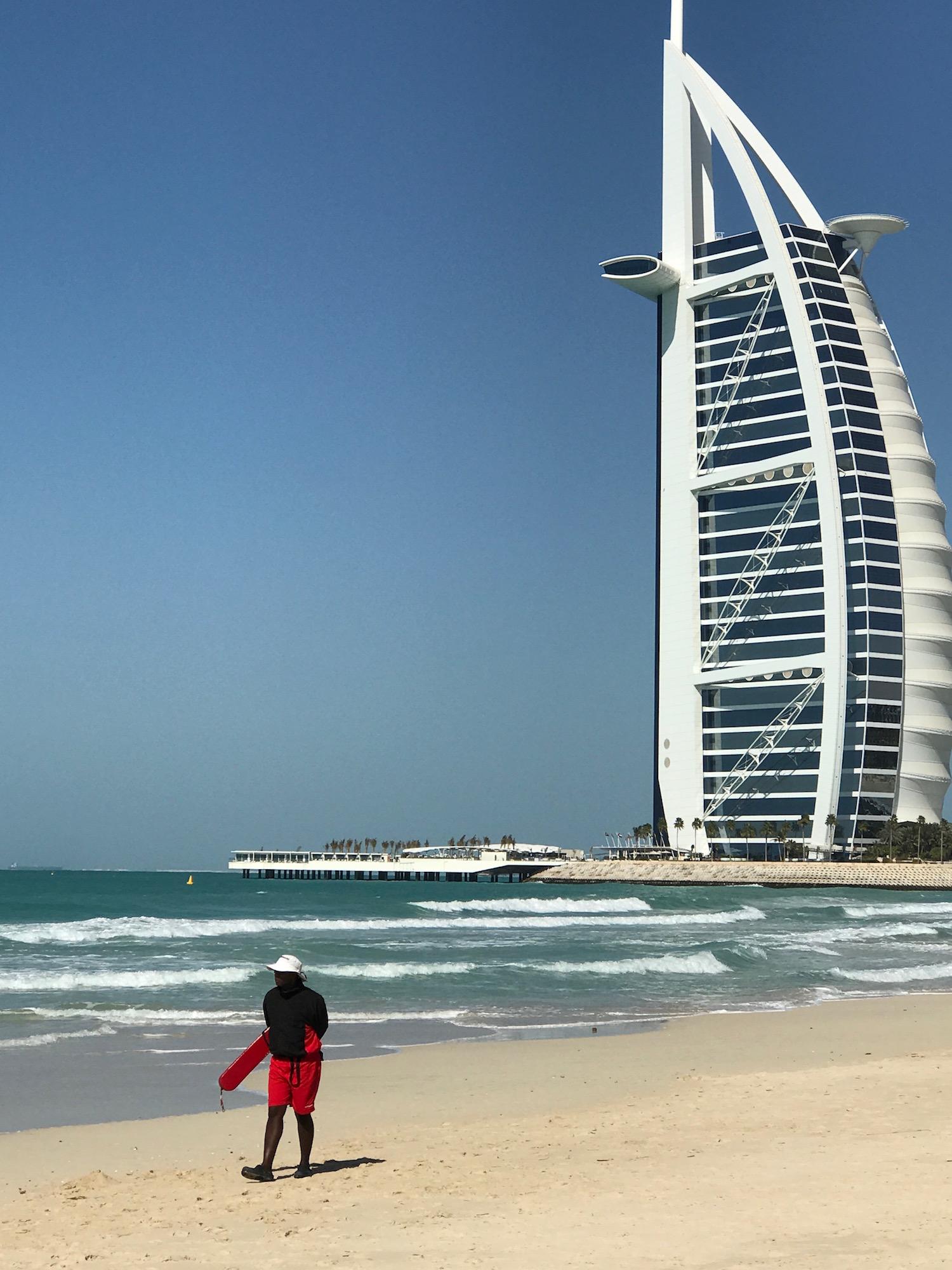 Lifeguard at Jumeirah Beach, Dubai