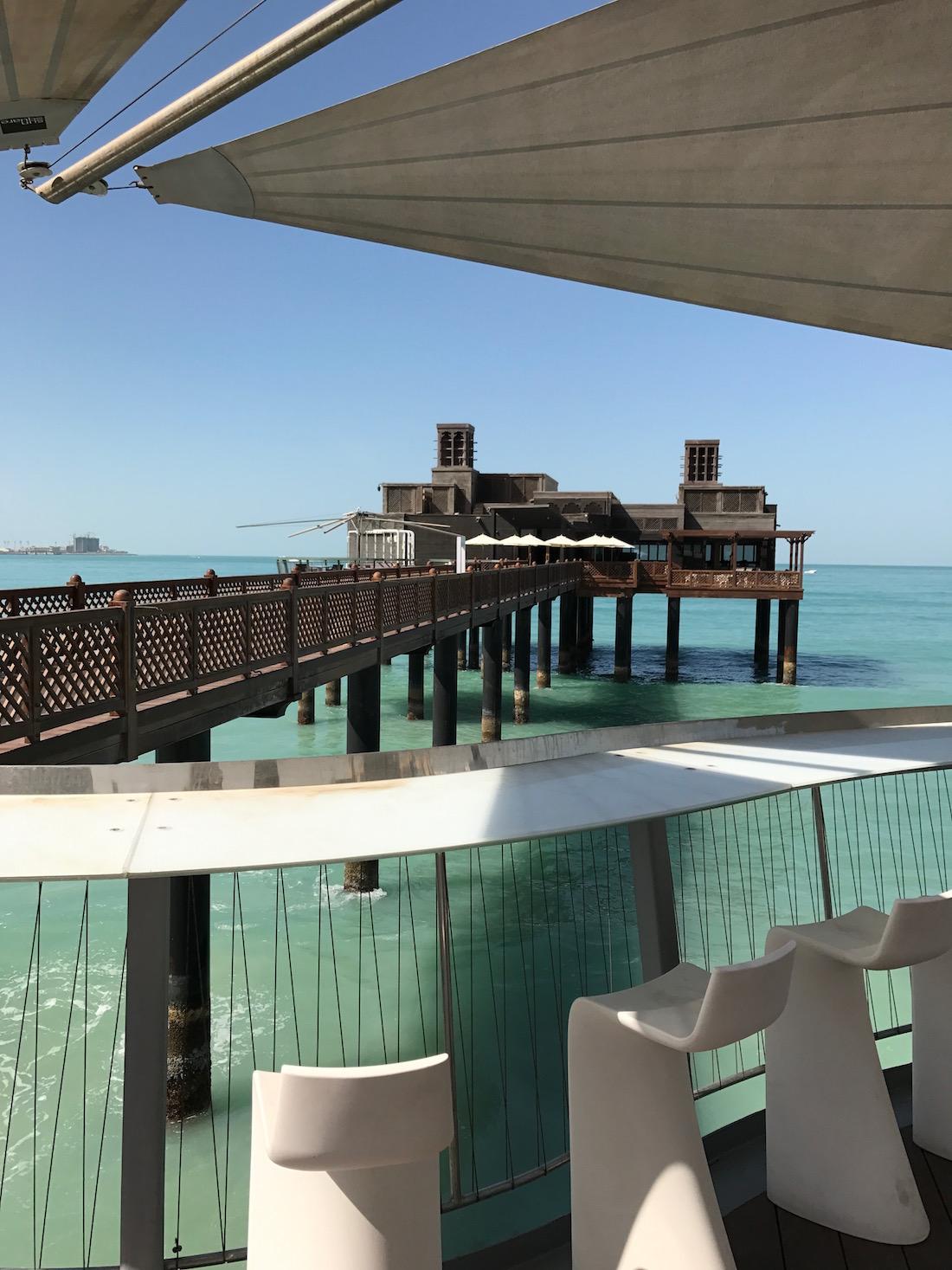 Pierchic Restaurant at Hotel Al Qasr, Dubai