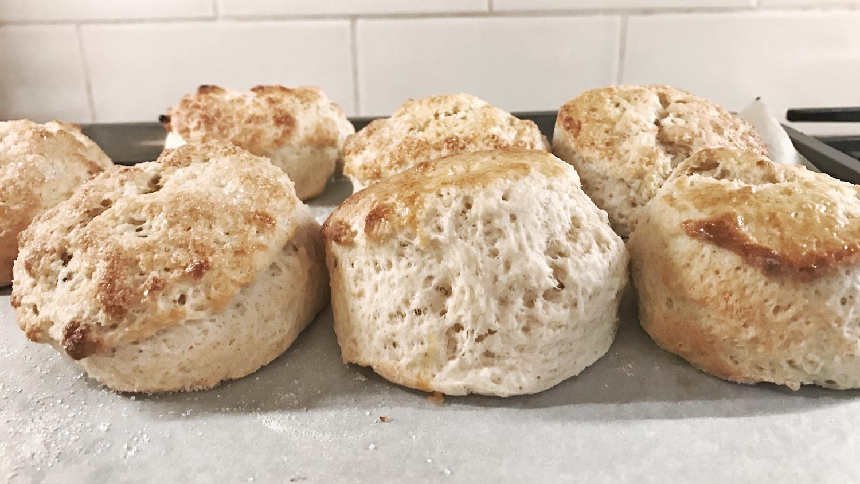 Freshly bake scones