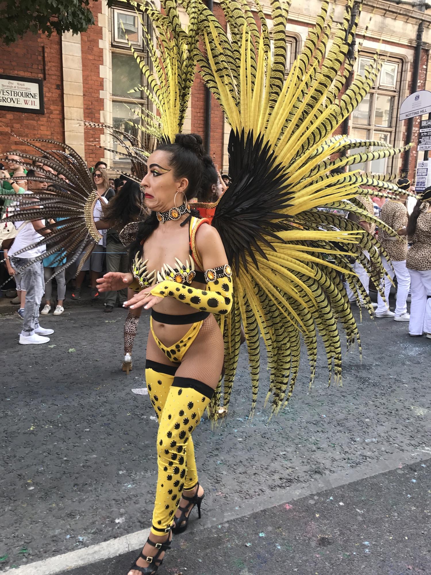 Carnival Goer in Yellow.JPG