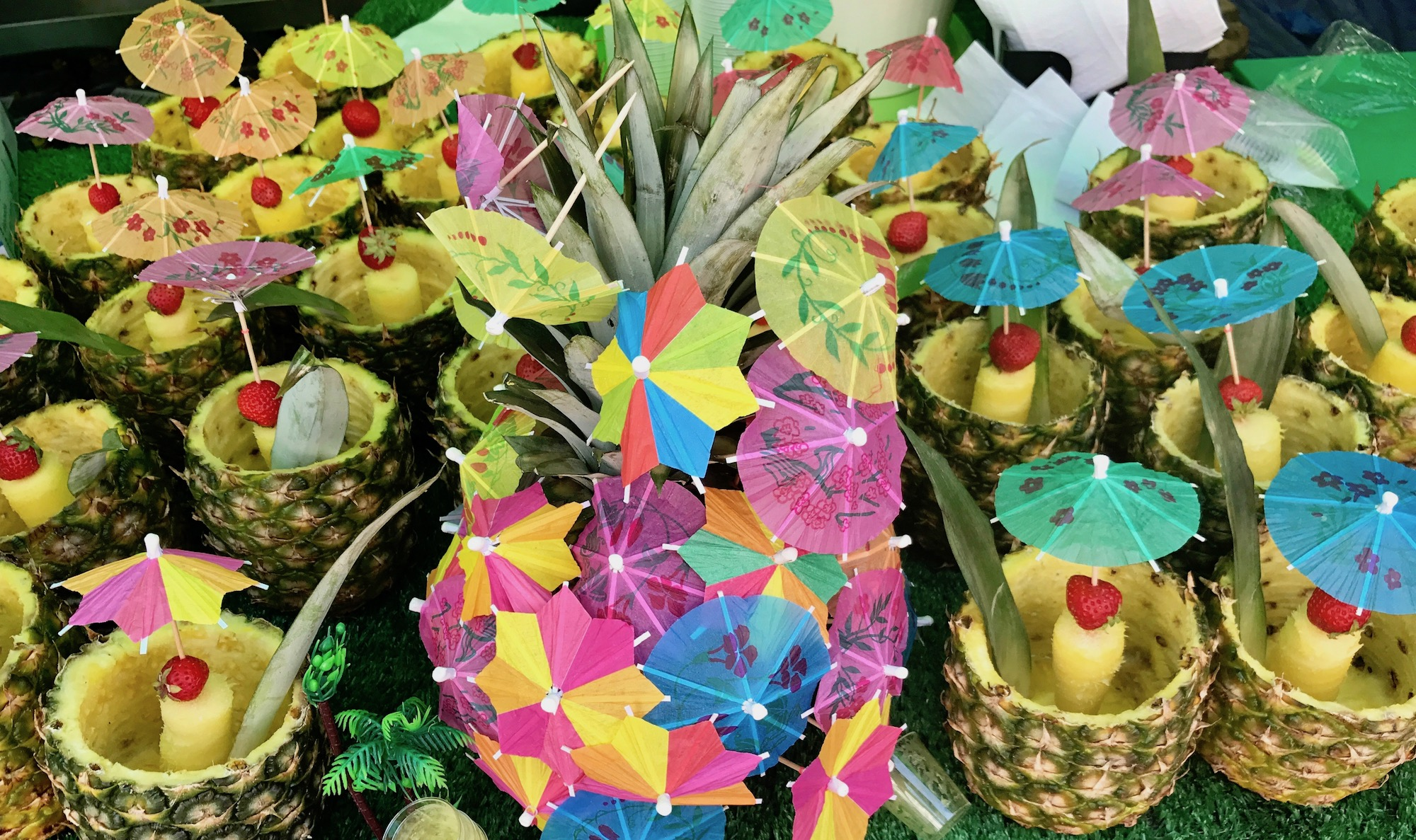 Pineapple Drinks Notting Hill Carnival