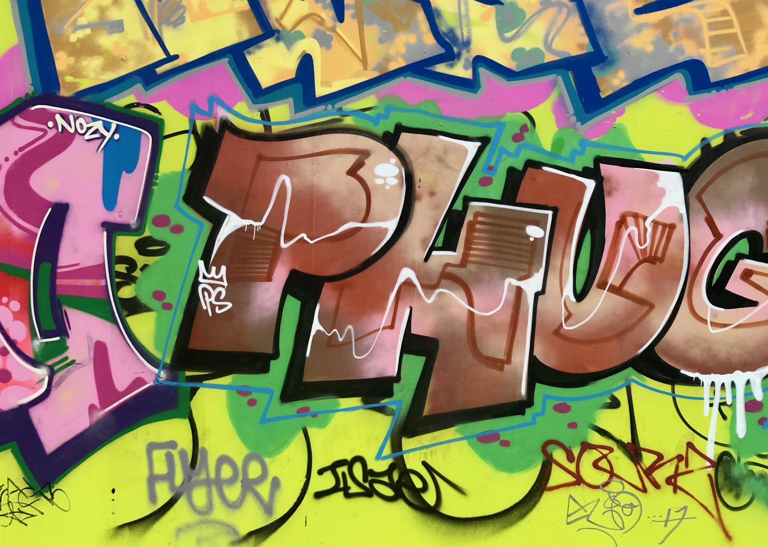 Graffiti Phug. Notting Hill Carnival