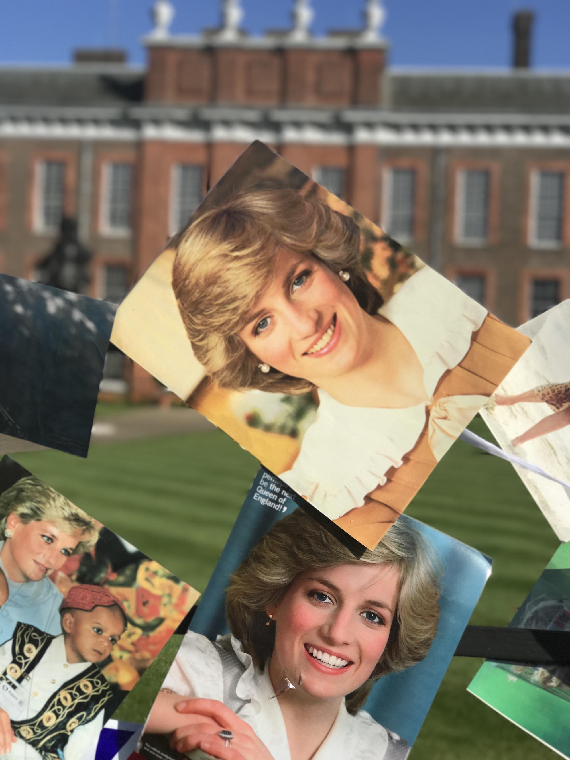 Diana's Photo C:U on Kensington Palace Gate.JPG