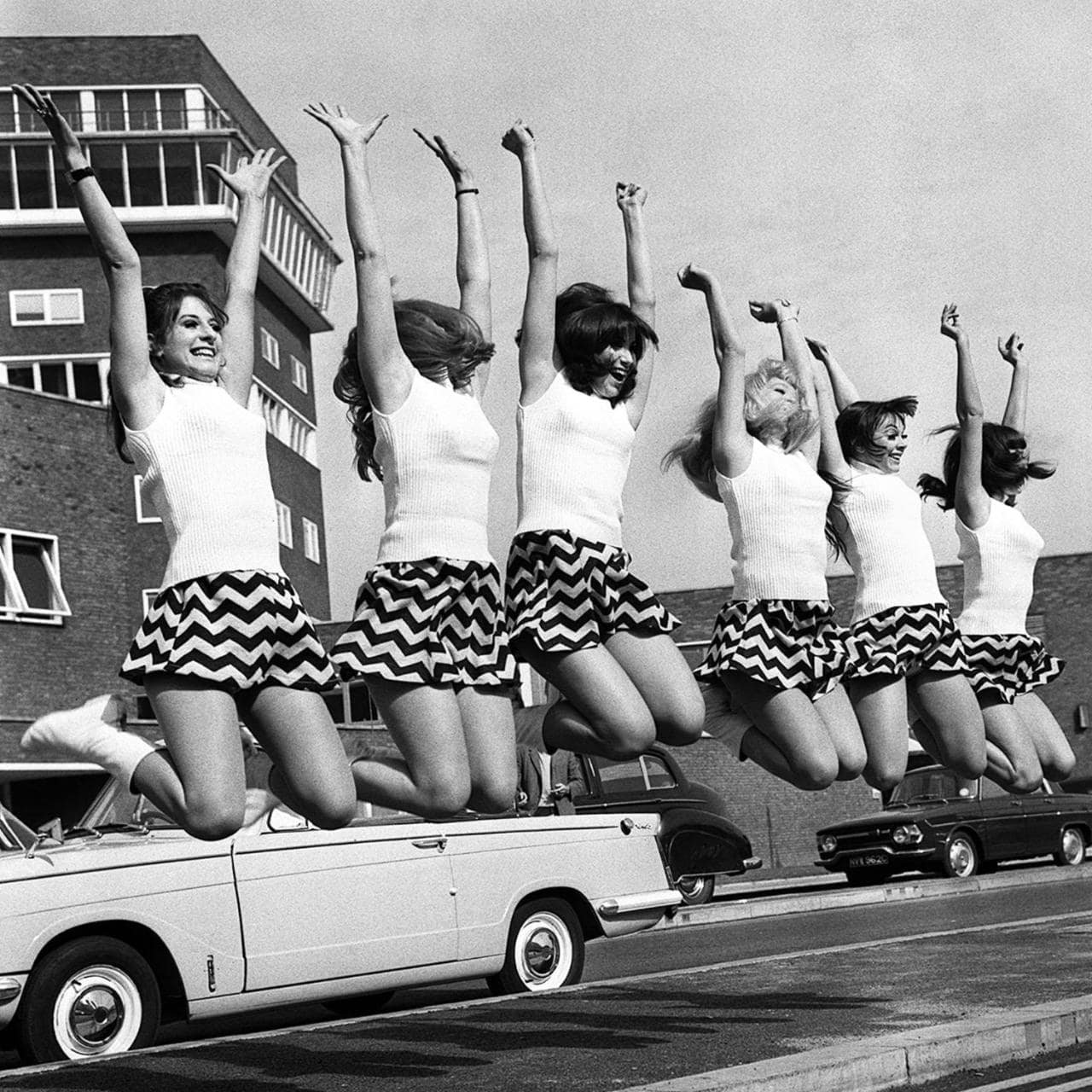Mini Skirts of the 1960's. Things Invented in London