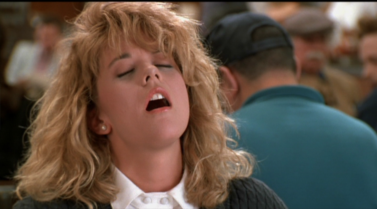 When Harry Met Sally Orgasm Faking  Scene