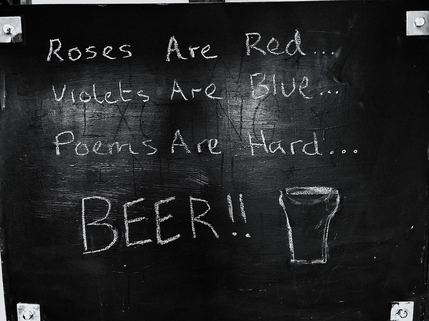 Words of prose on the walls of Cuckmere Haven pub. I think that sums it up.