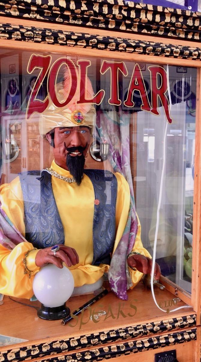 Zoltar fortune Teller.