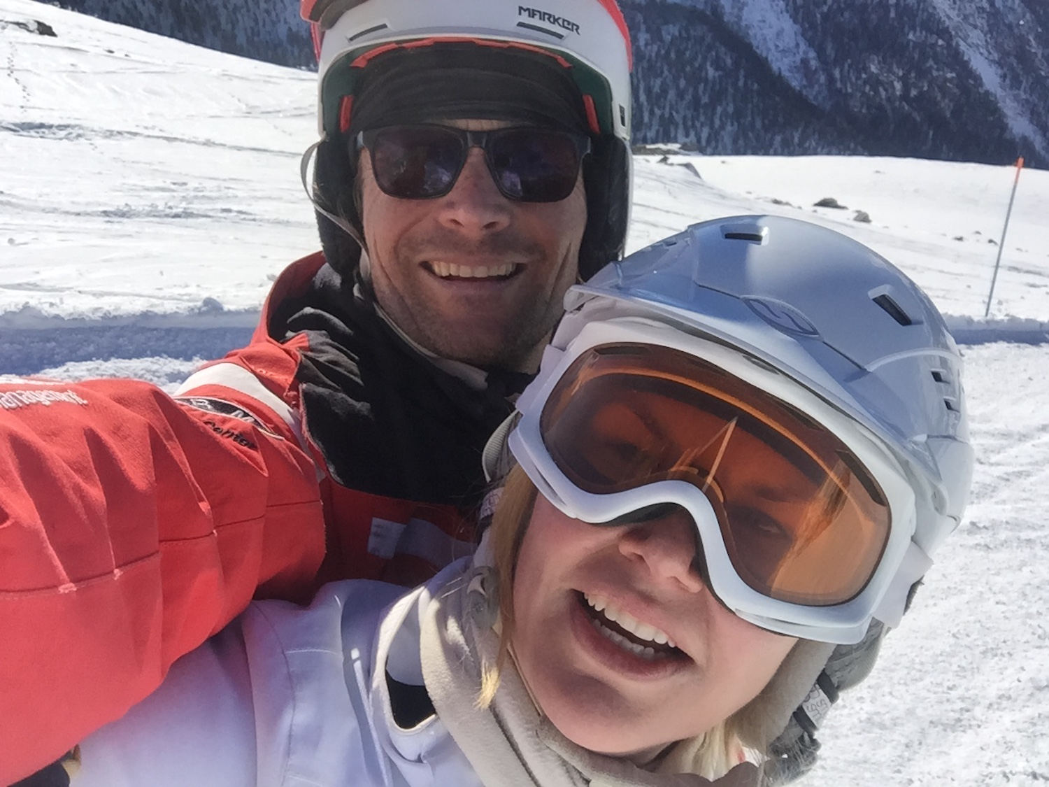 A Broad In London with Ski Instructor