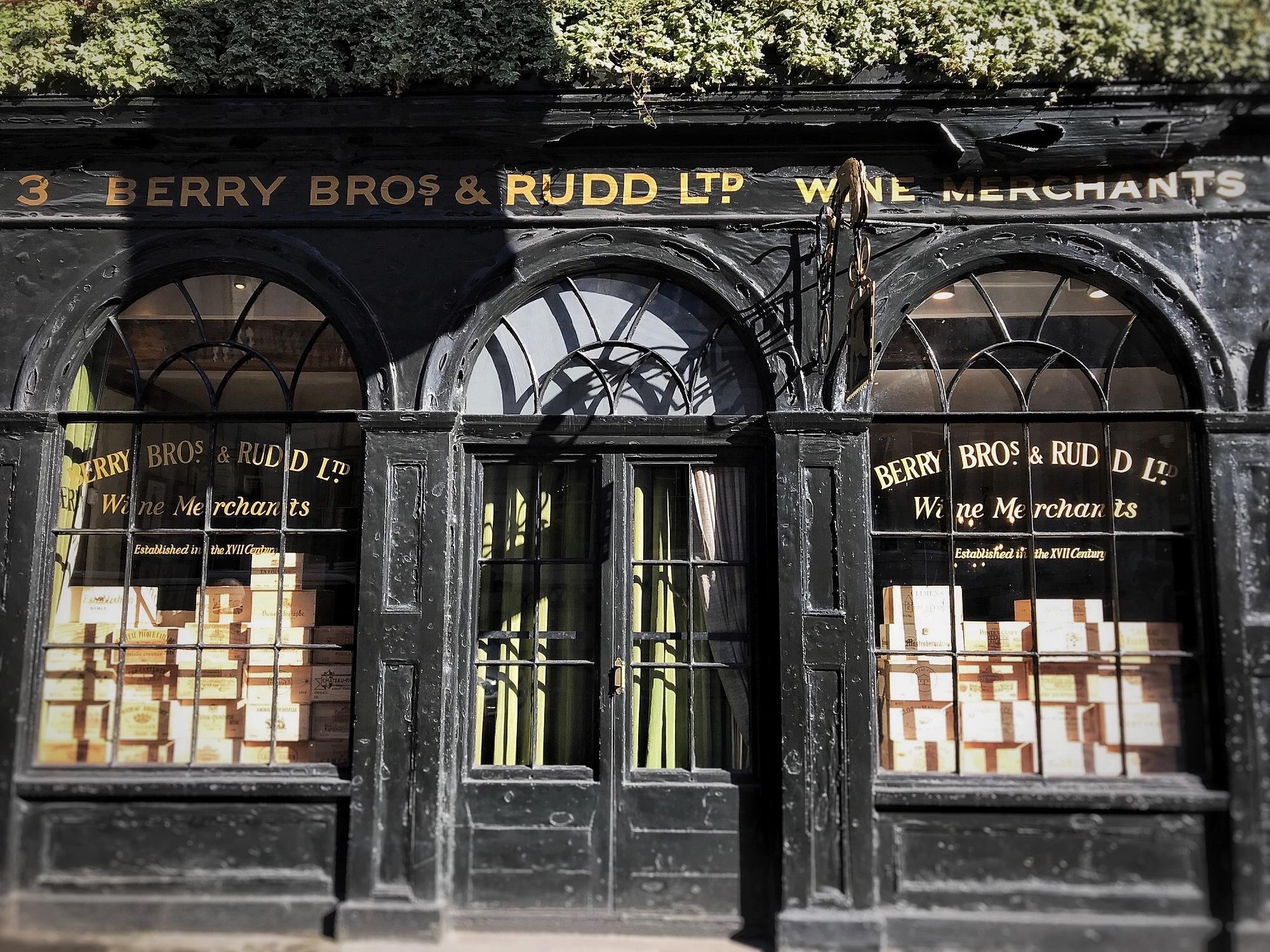 BERRY BROS & RUDD. London Oldest Wine Merchant