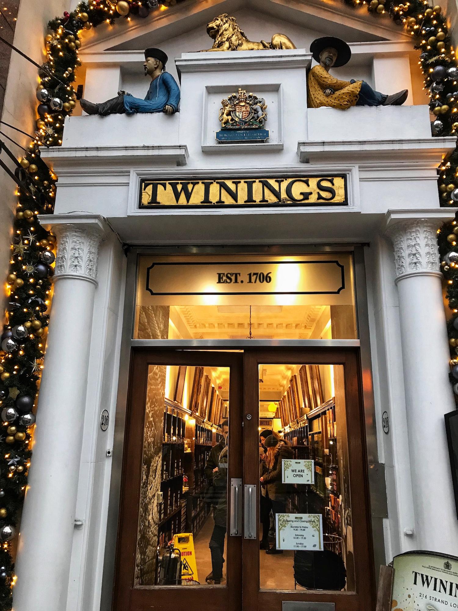 Twinings Shop London