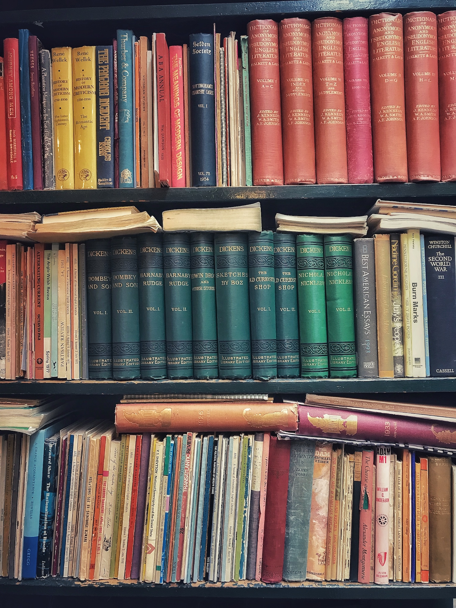 Old Books of Shelf.