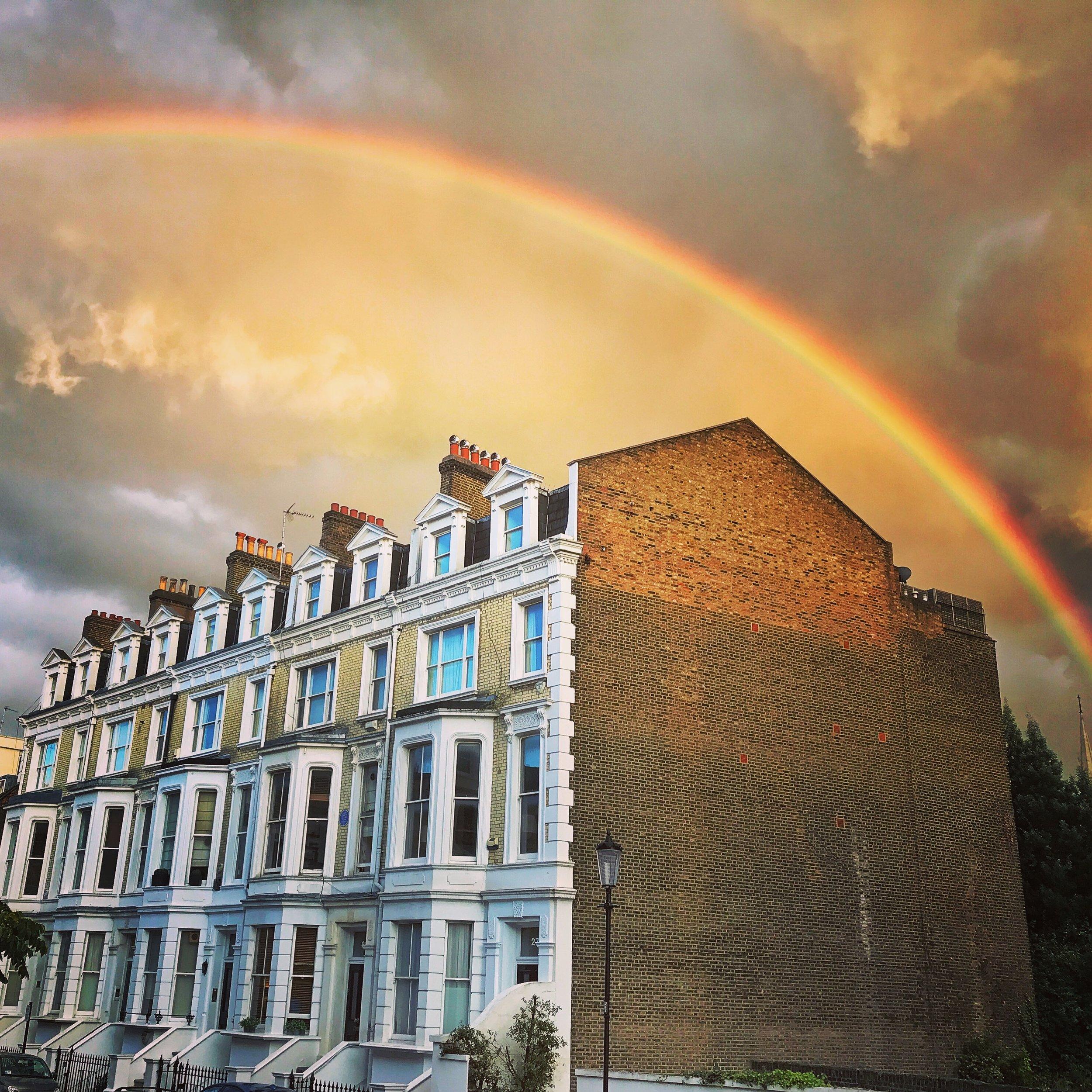 Rainbow Over Kensington