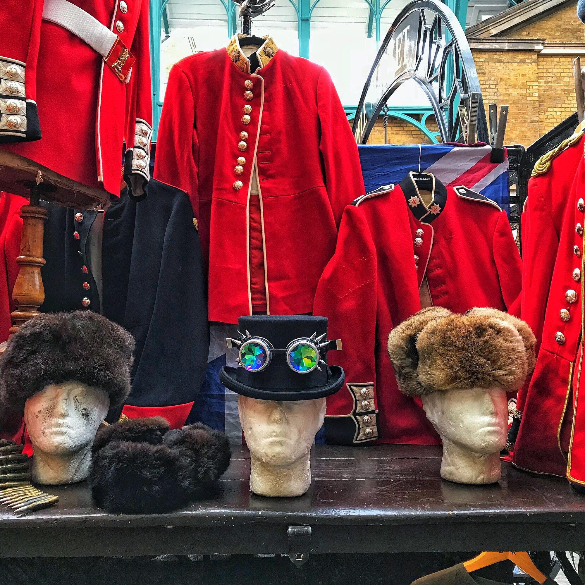 Soliders Uniforms at Covent Garden - A Broad In London.jpeg