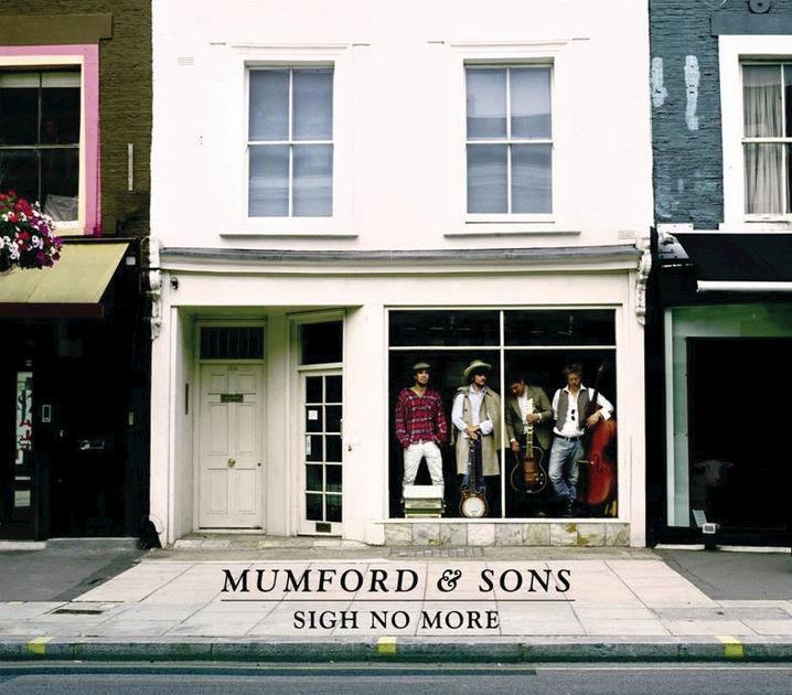 Mumford & Sons Sign No More Album Cover.