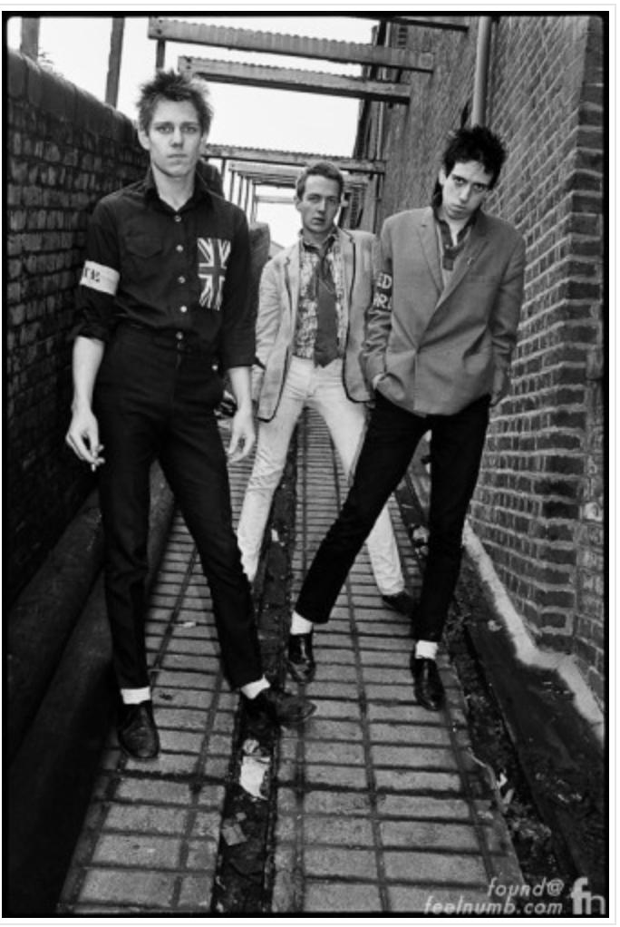 The Clash Original Photo for their album.