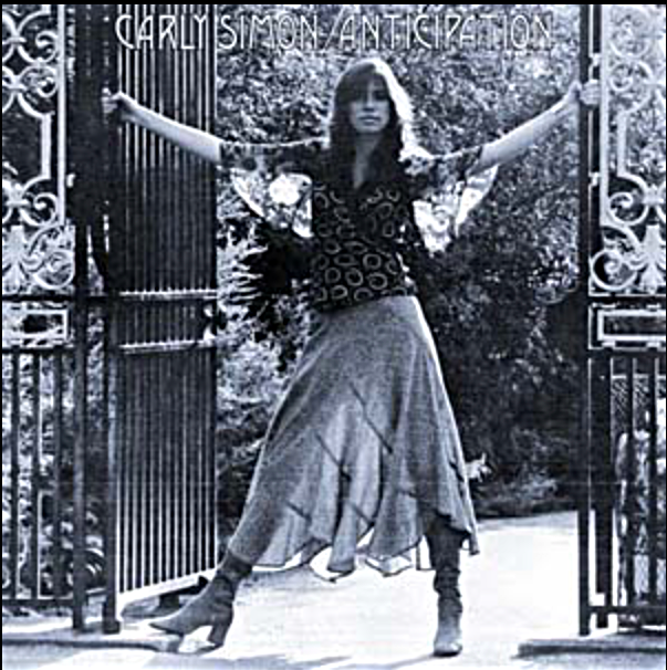 CARLY SIMON ALBUM COVER.