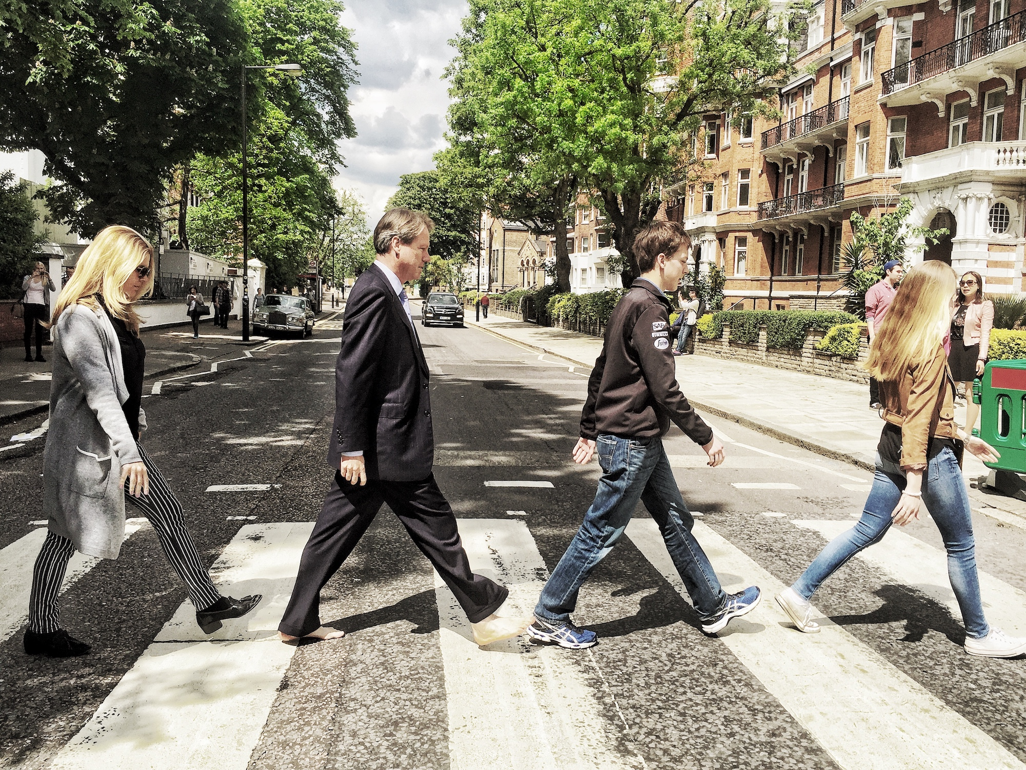 A Broad in London and Family crossing Abbey Road.jpeg