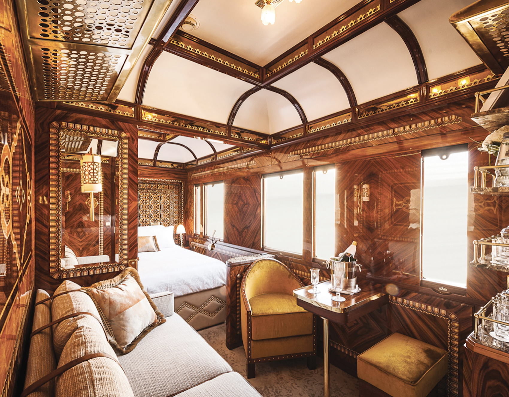 Suite on The Orient Express