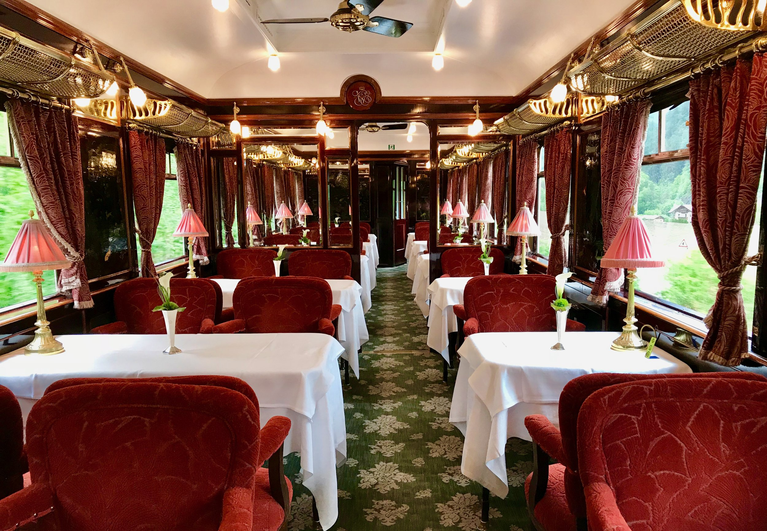The L'Oriental Dining Car