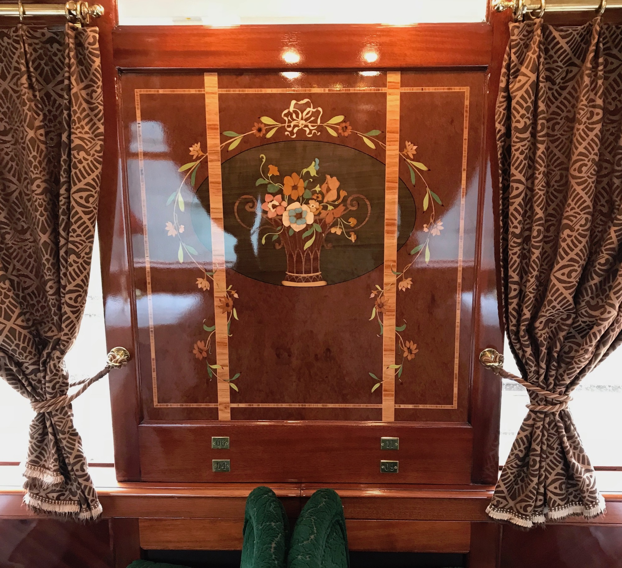 Inlaid wood work in the Orient Express.jpg