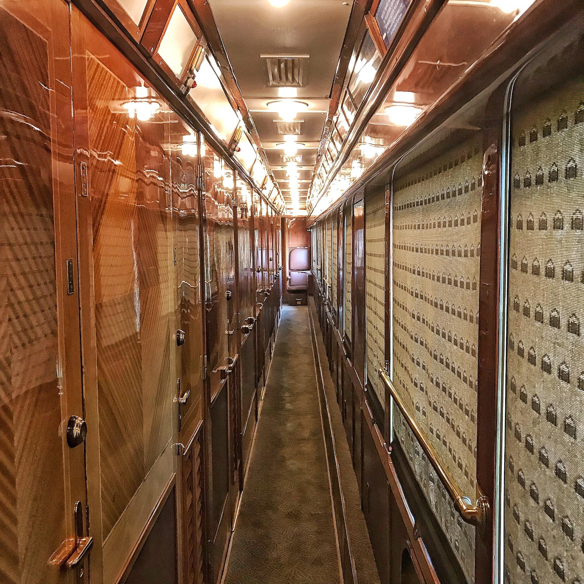 Corridor of the Orient Expess sleeper car.jpg
