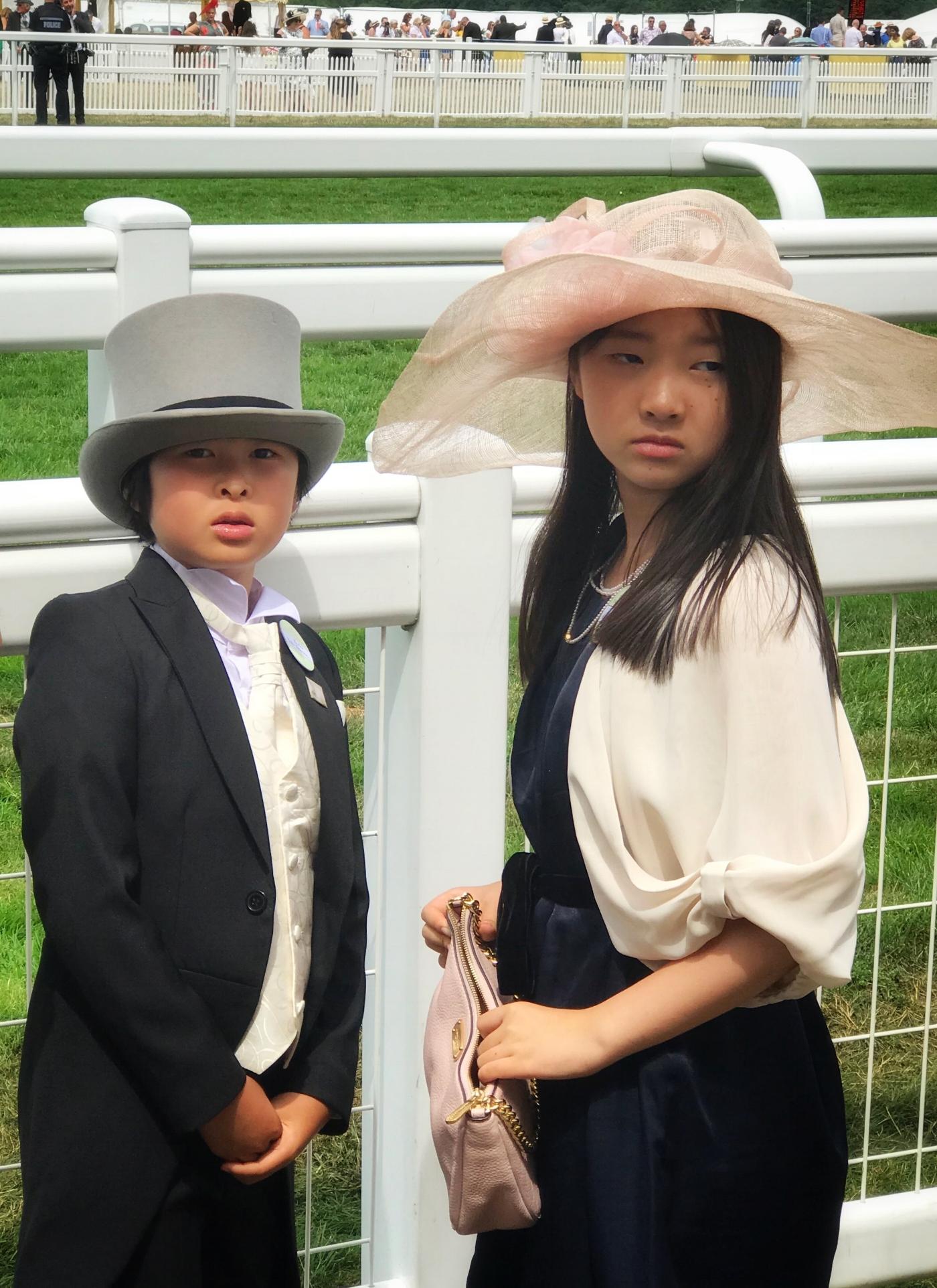 The children of Ascot