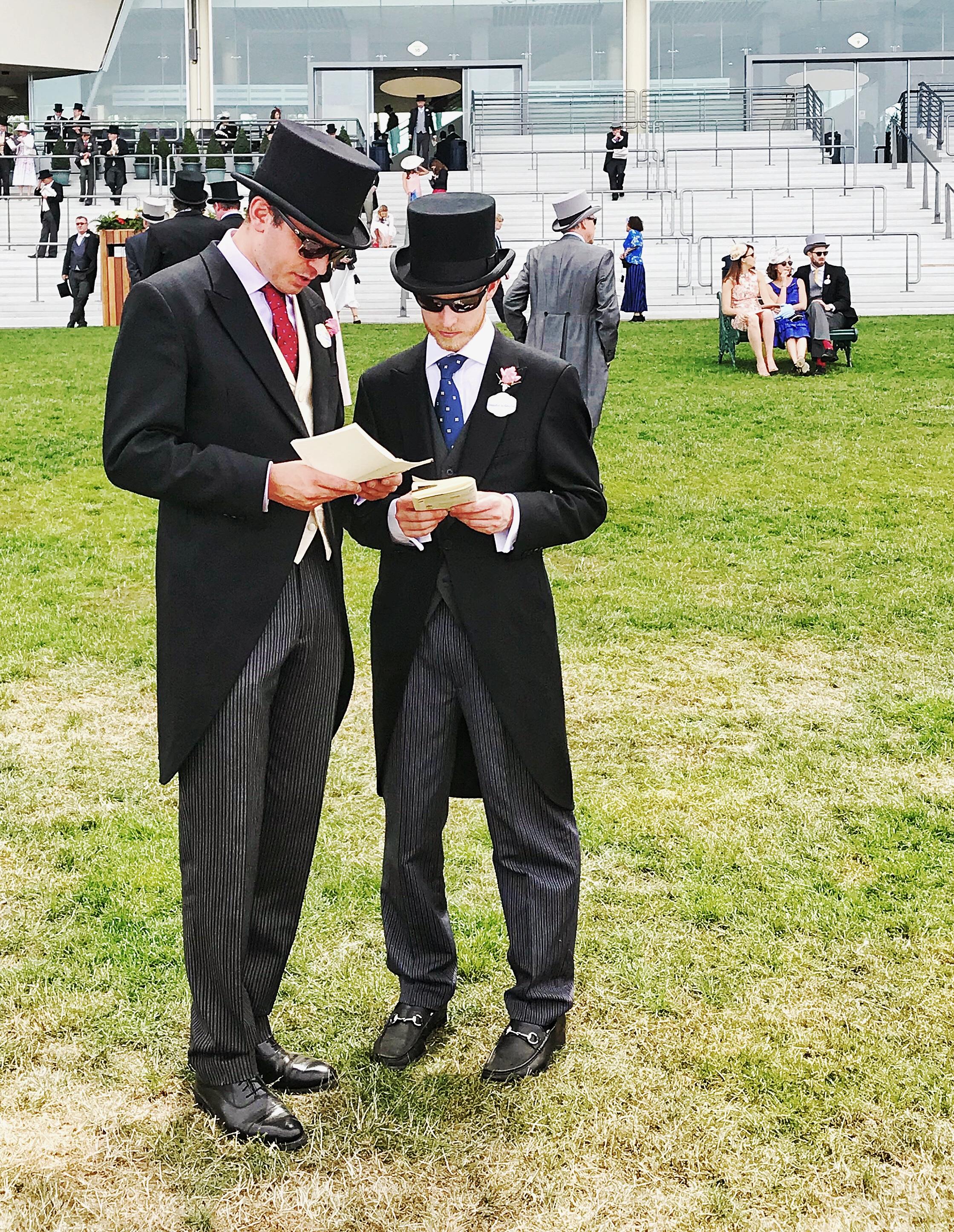 Men Dressed At Ascot