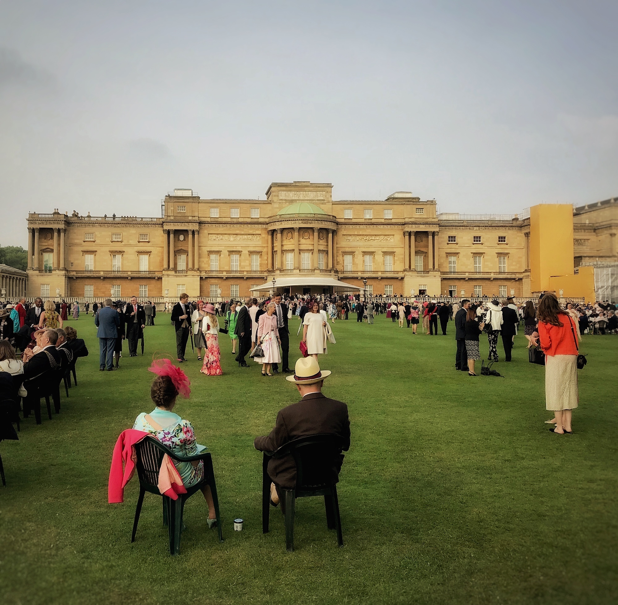 Buckingham Gardens during Queen's Garden Party.jpeg