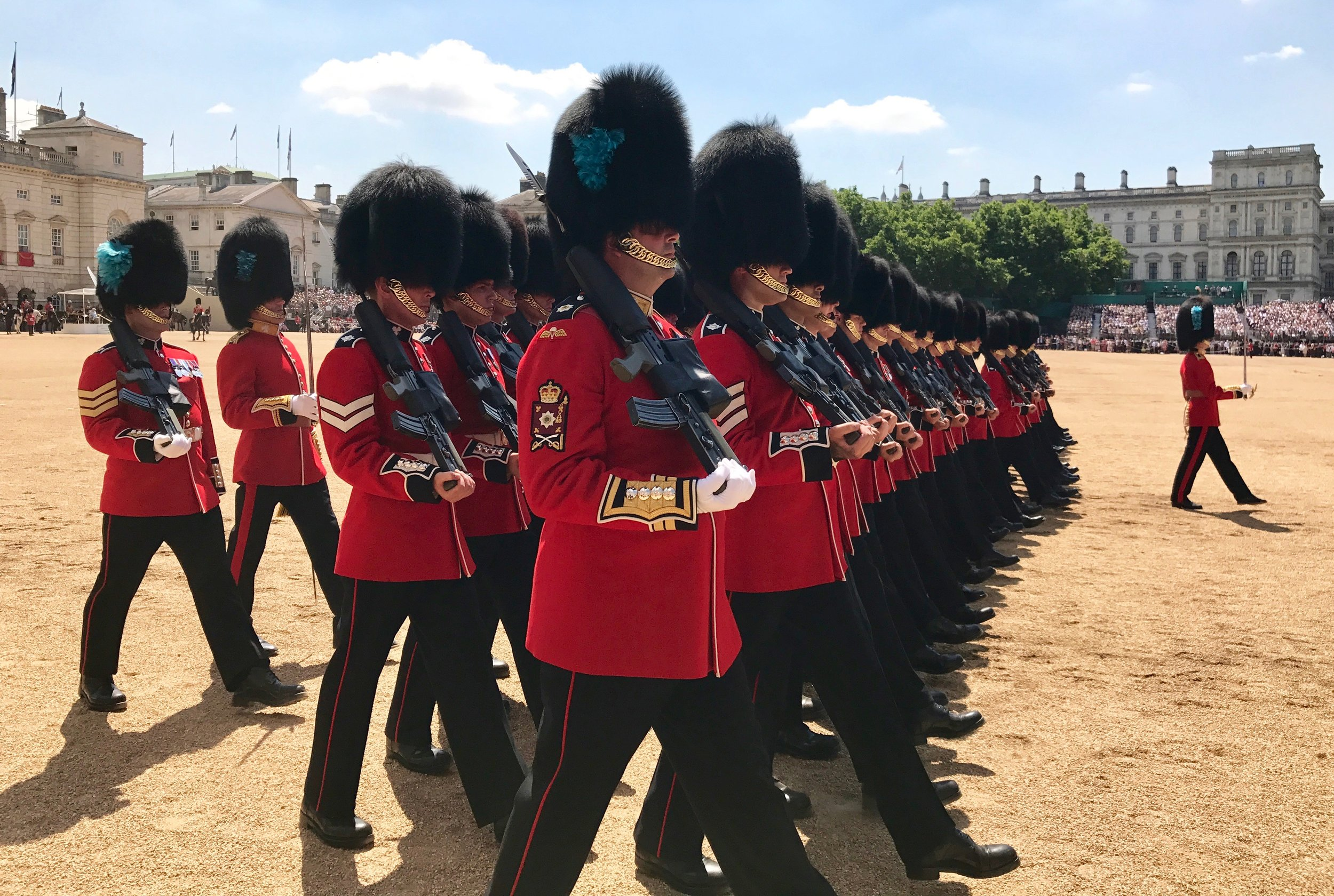 Trooping of Colour at Royal Horse Guards London