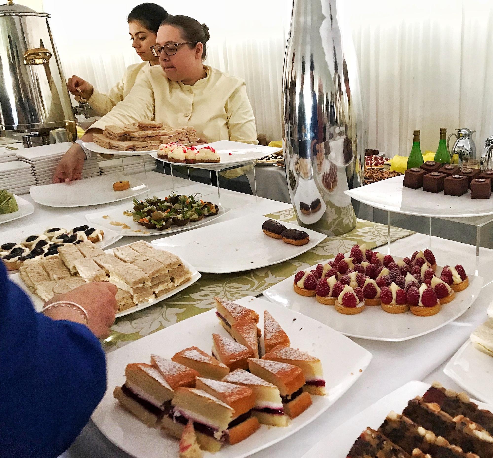 Food at Queen's Garden Party