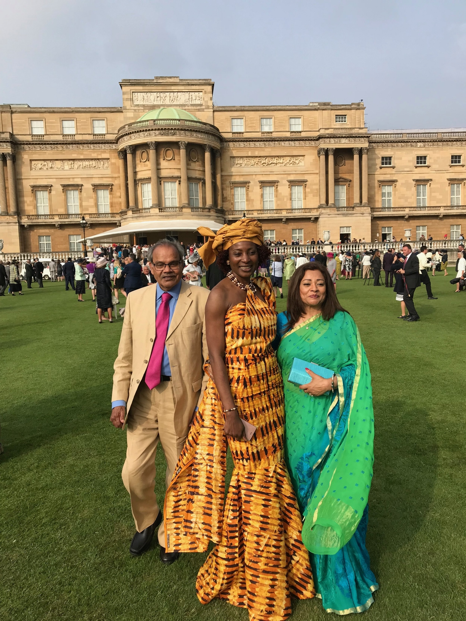 National Dress at The Queen's Garden Party