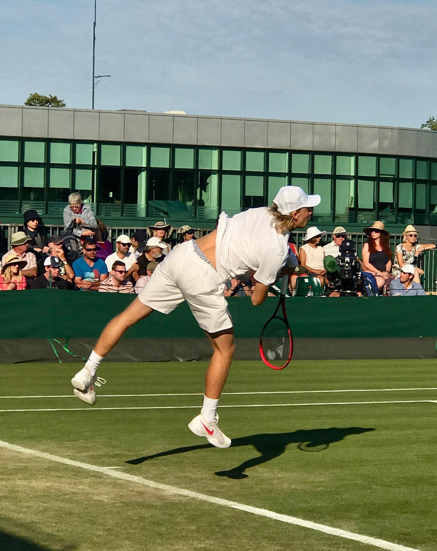 Ace Serve By Denis Shapovalov Wimbledon 2018.jpg