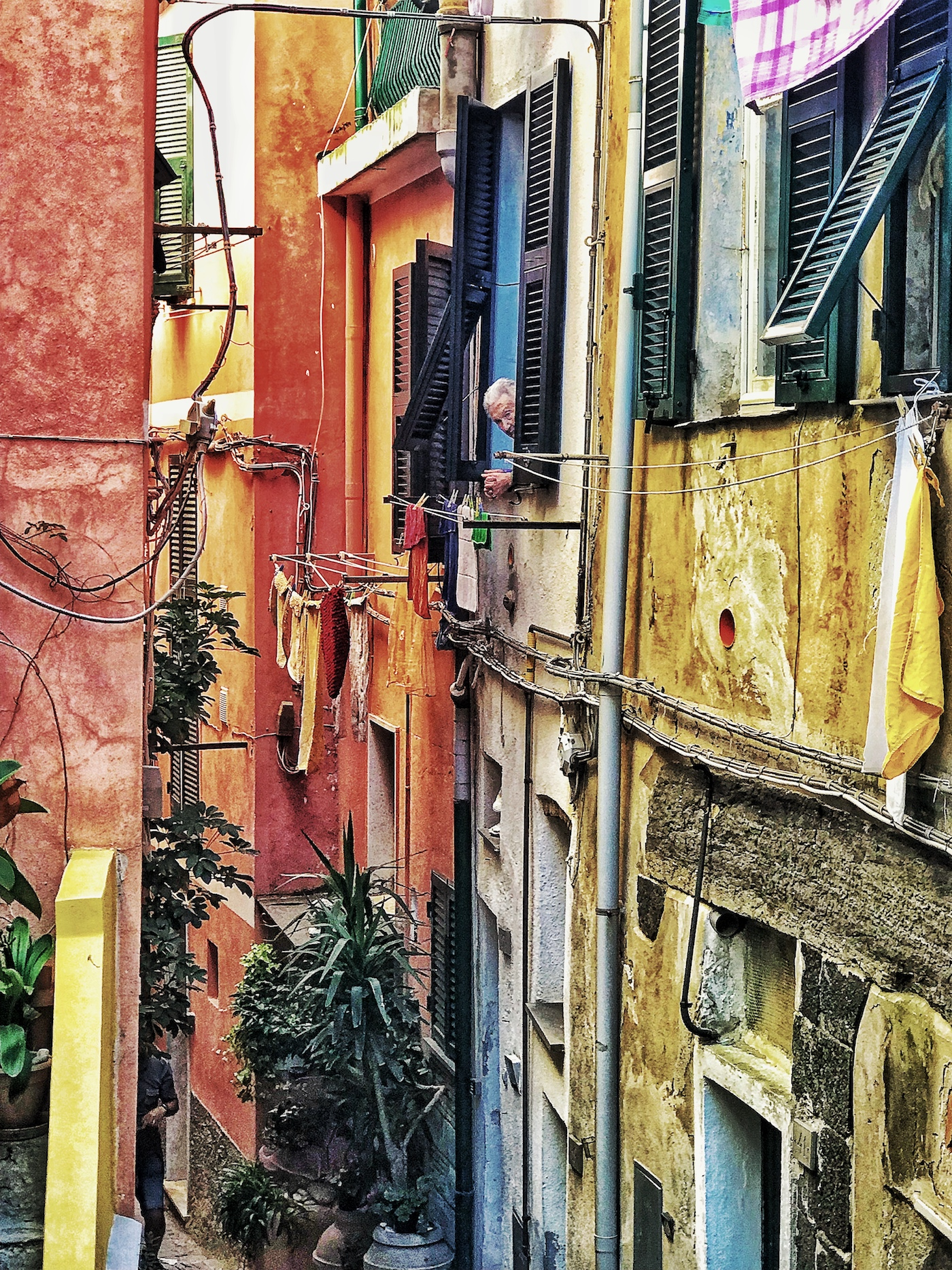 Vernazza With Man looking out the window.jpg