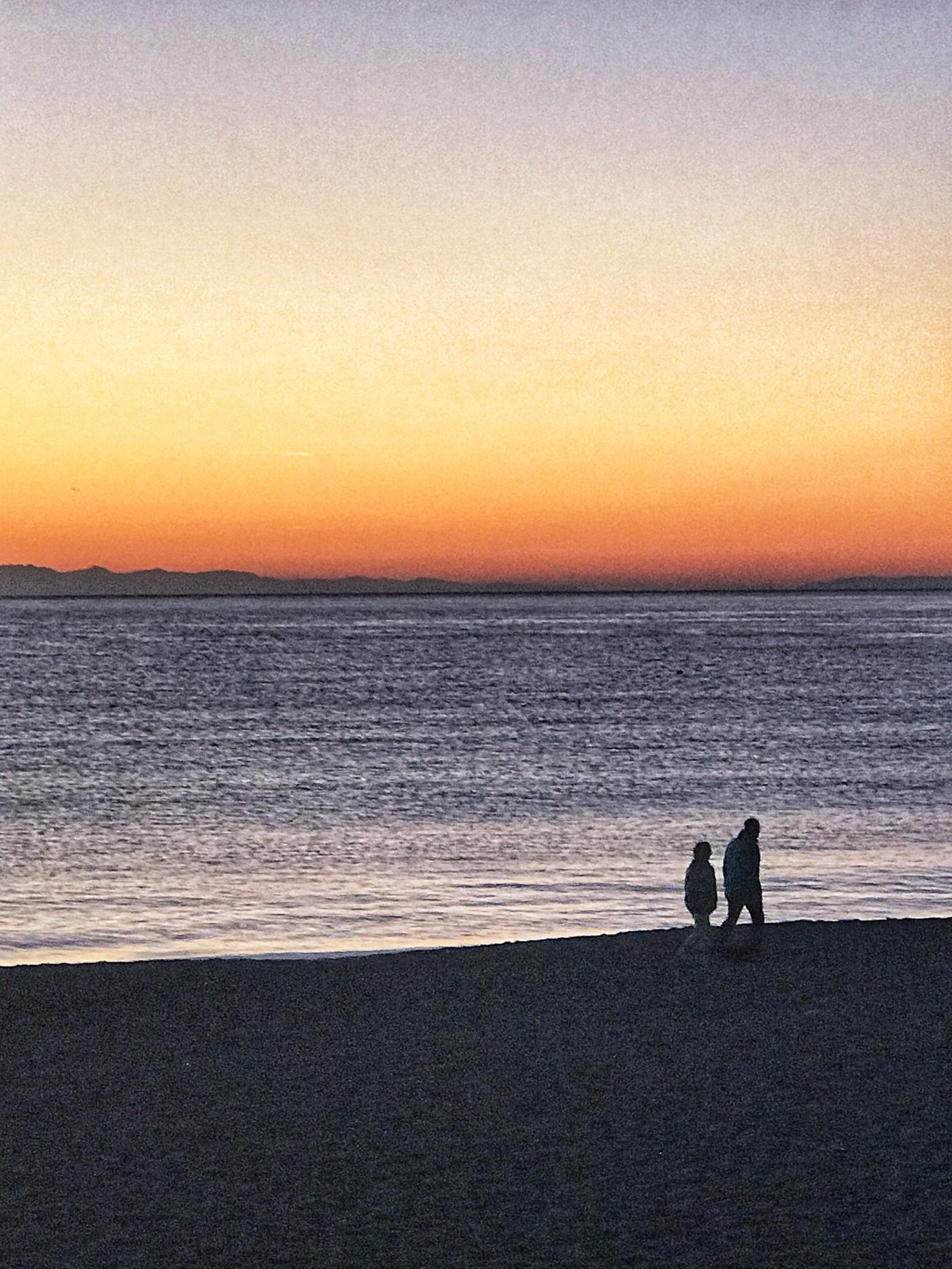 Sunset on Levanto, Italy