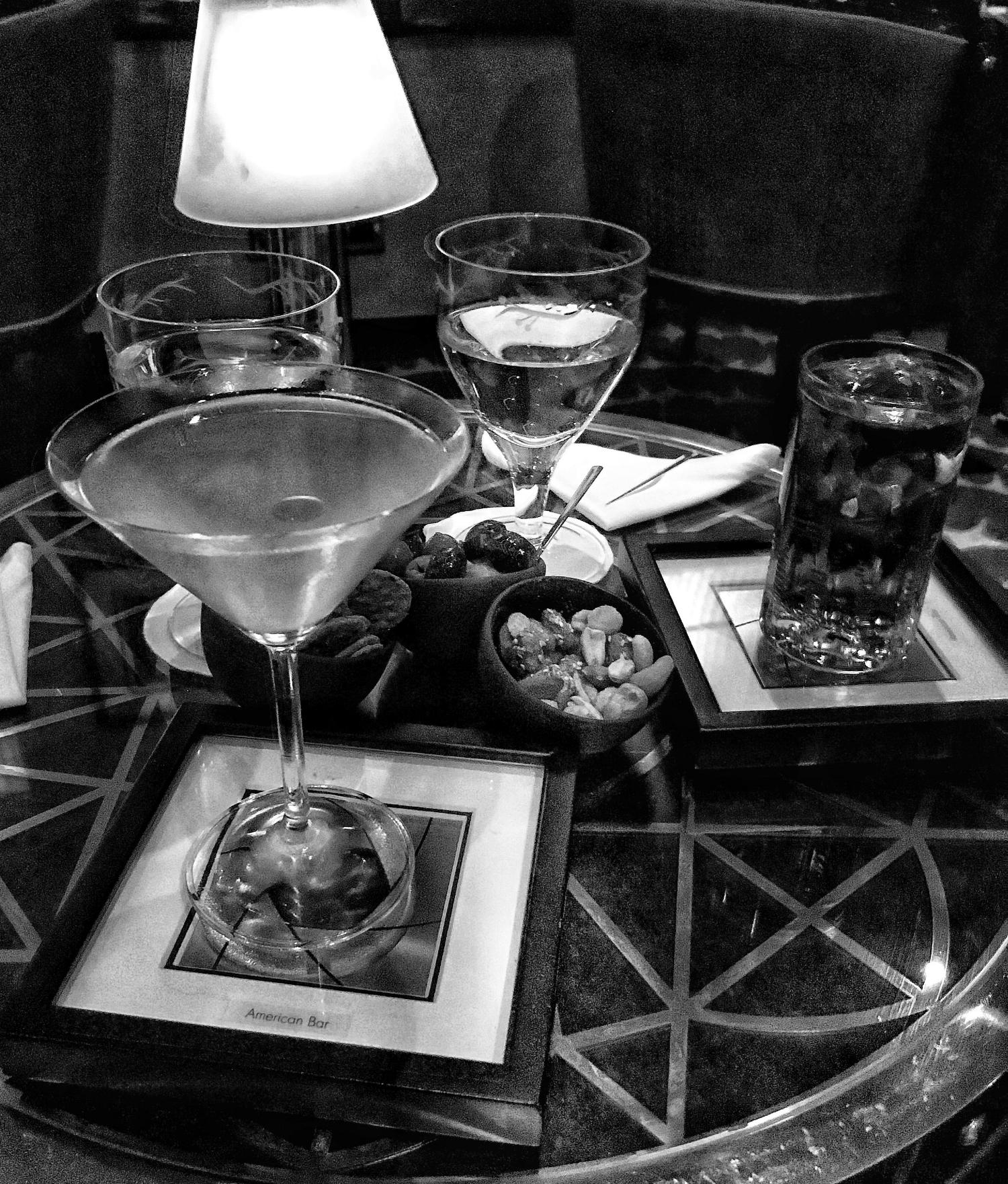 Martini at The American Bar, London