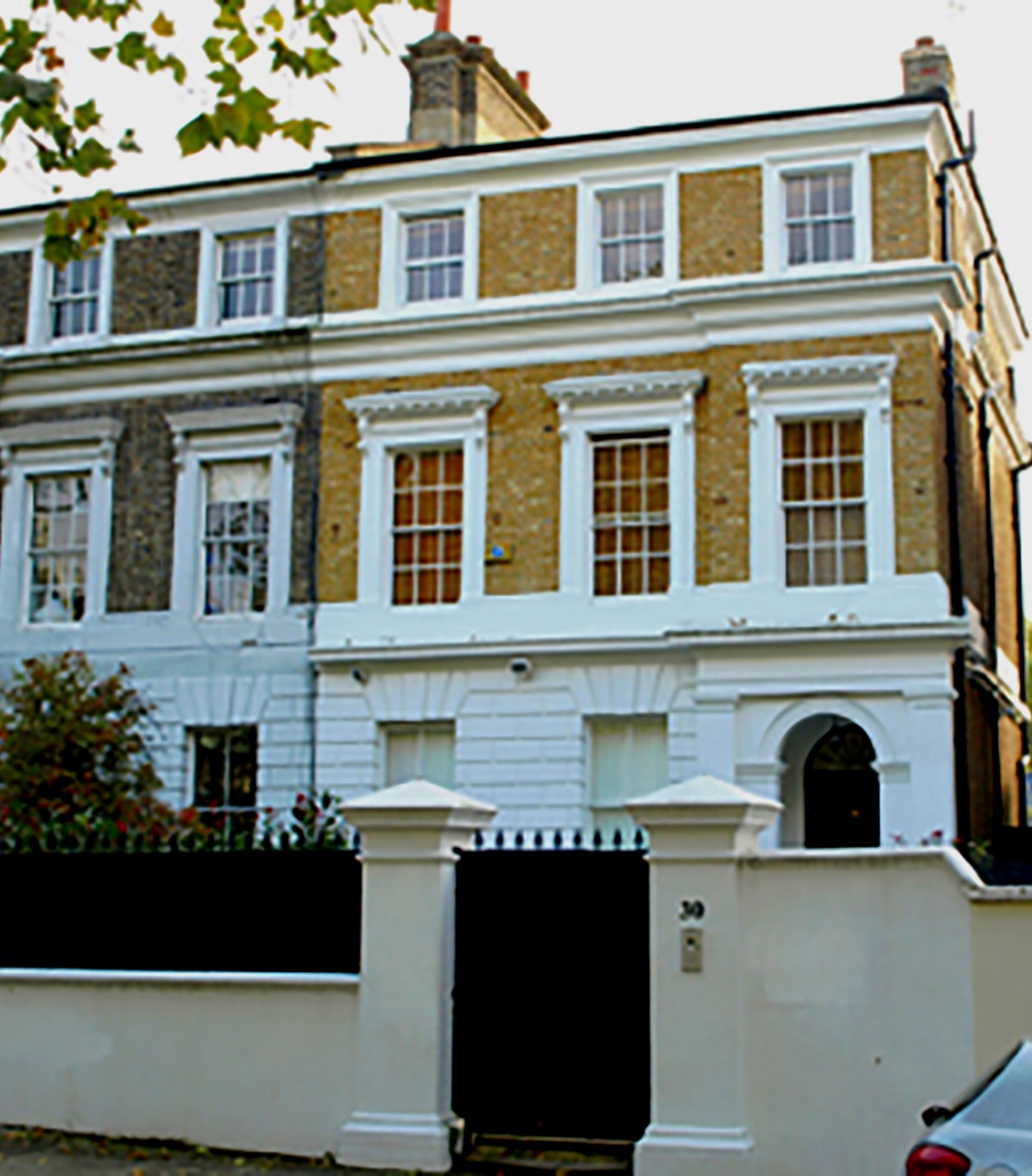 30 Camden Square. Former House of Amy Winehouse