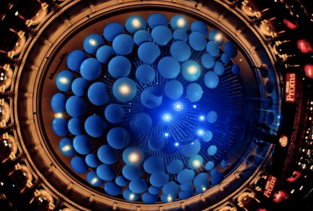Royal Albert Hall, Ceiling mushrooms.png