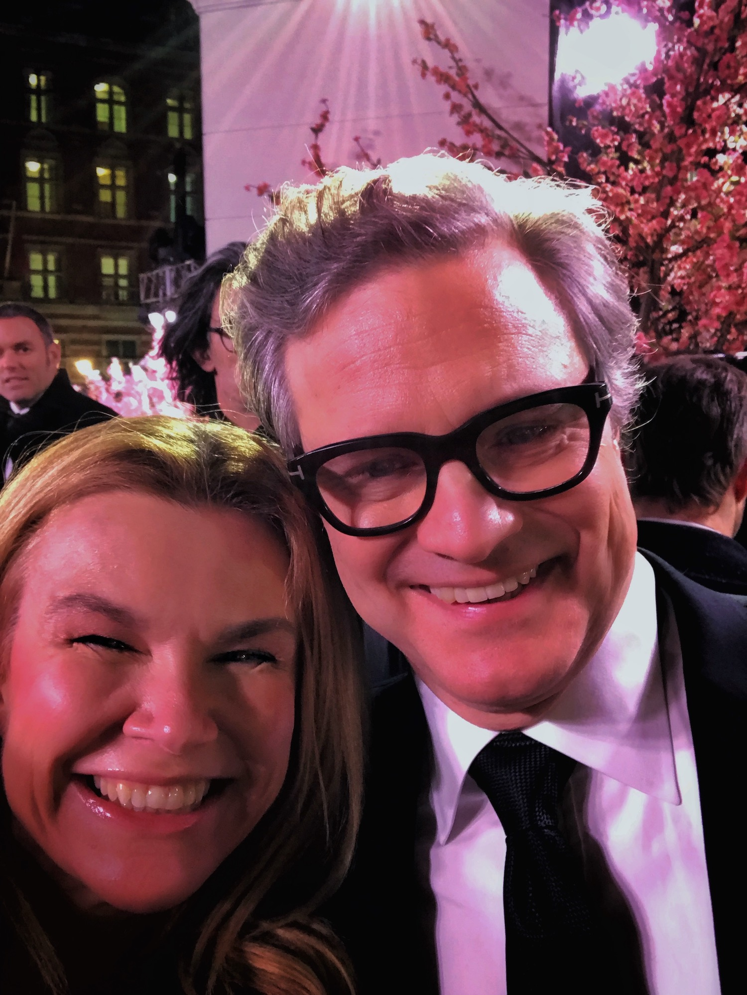Christina Ford (A Broad In London) with Colin Firth Premiere of Mary Poppins Returns.jpeg