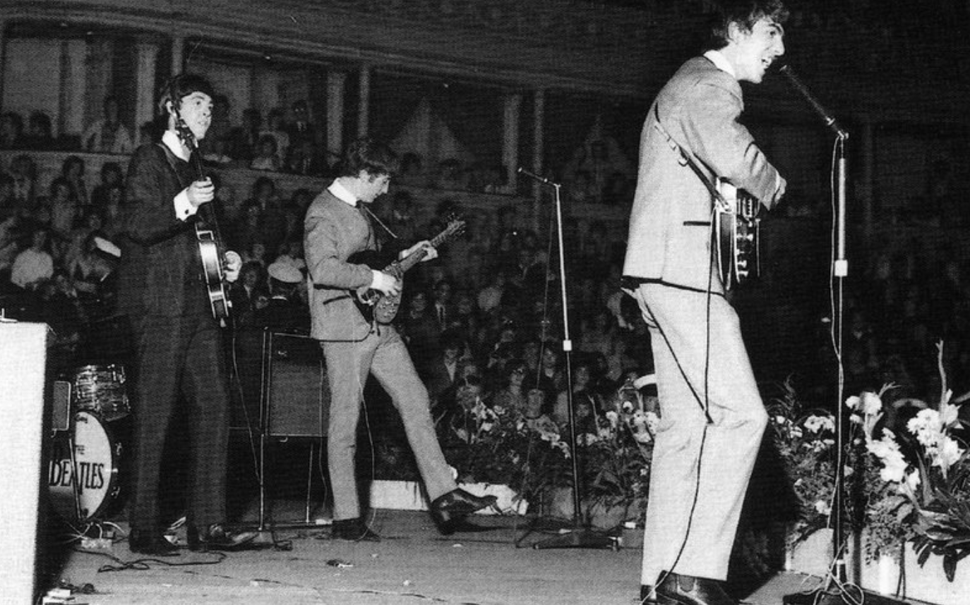 The Beatles 1963 at Royal Albert Hall