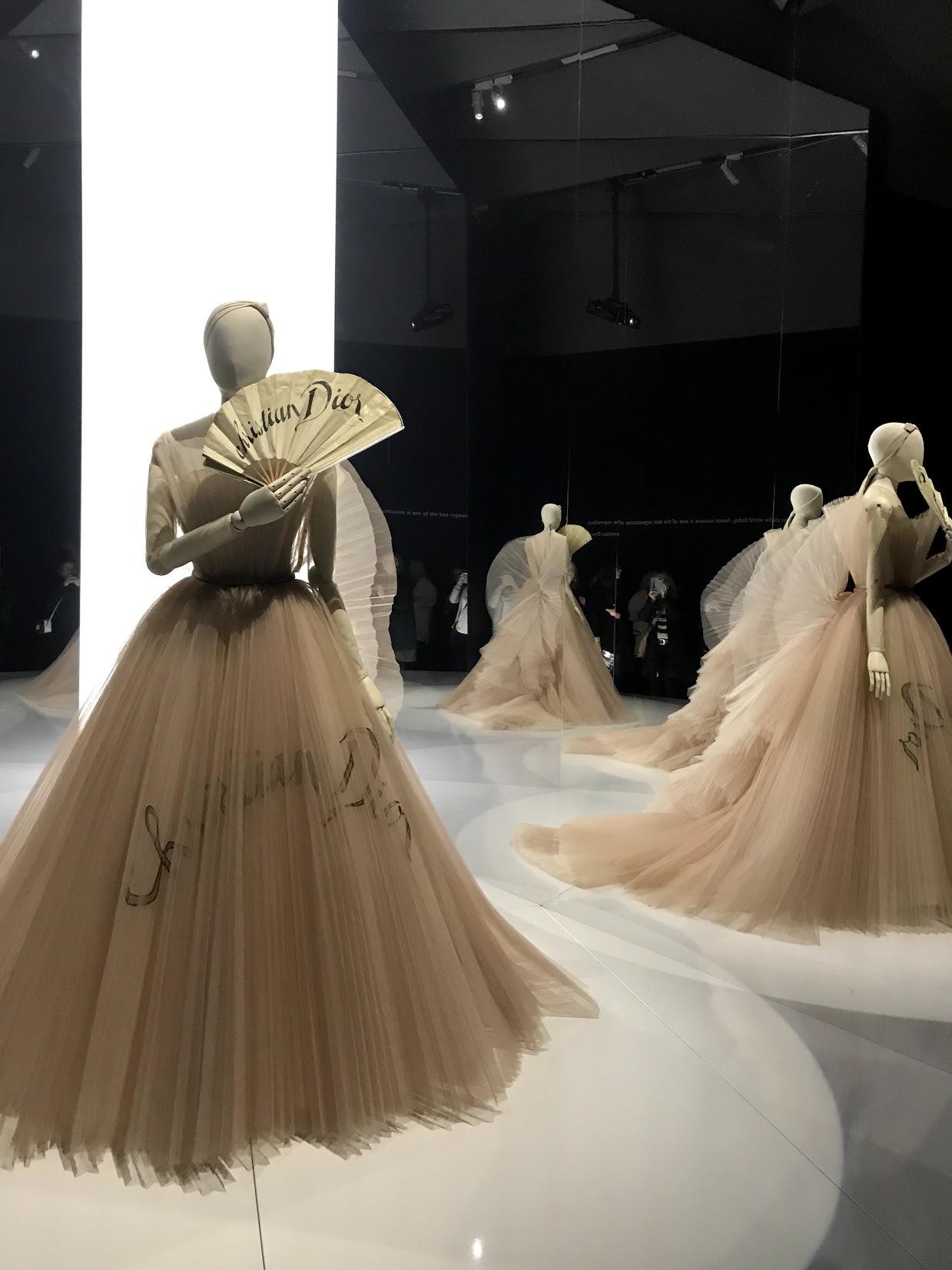 The Dior Exhibit at The Victoria & Albert Museum