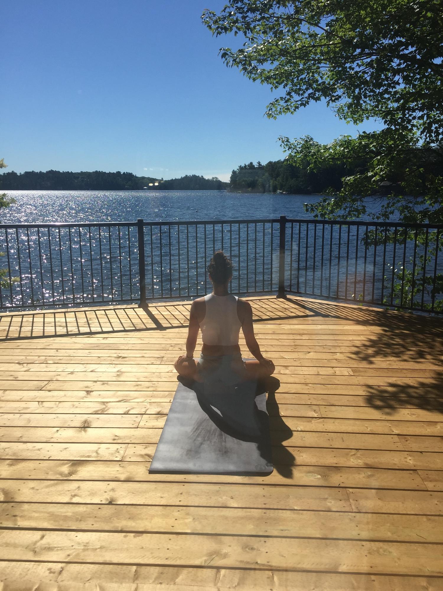 Zen in Muskoka .