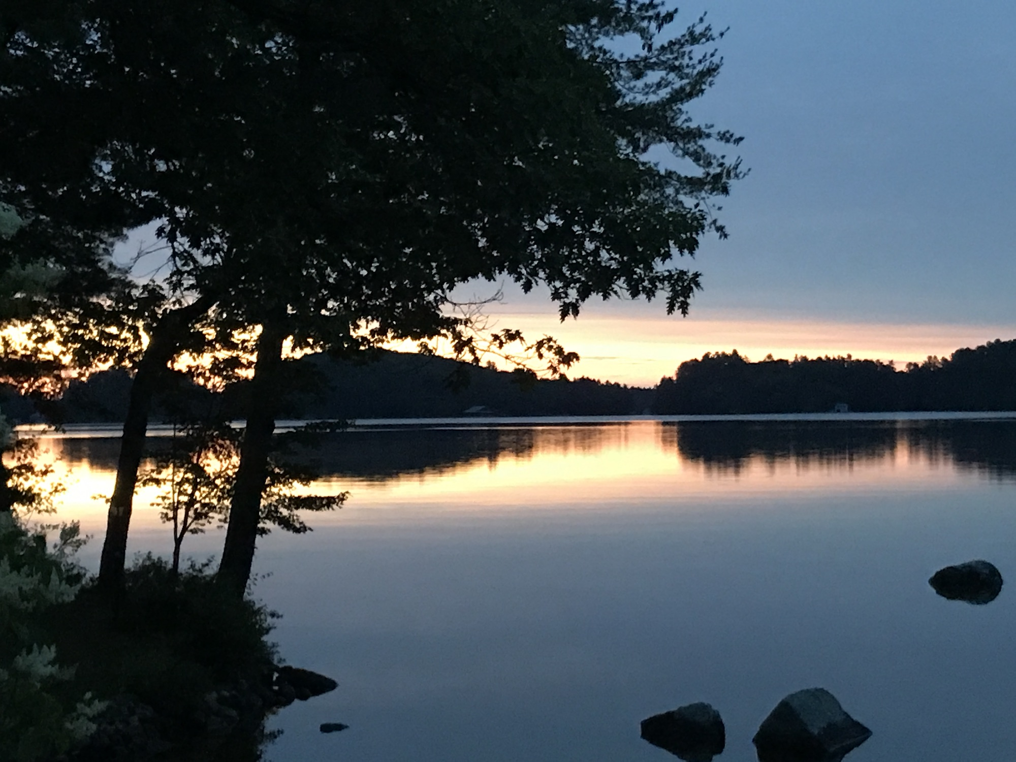 Sunrise Lake Rosseau, Muskoks.JPG
