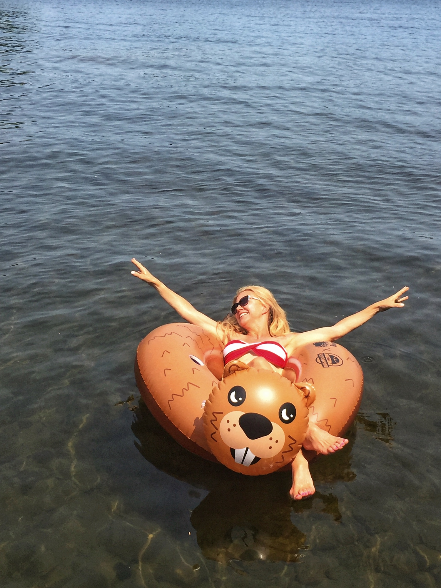 A BROAD IN LONDON FLOATING IN LAKE ROSSEAU.jpg